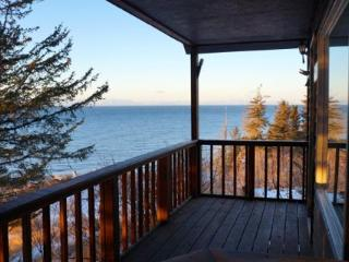 Ocean View Cabin on the Bluff (Iliamna Cabin) Anchor Point - Anchor Point vacation rentals