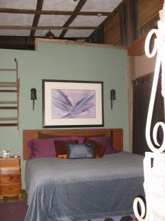 Bunkhouse Suite includes Sitting Room, Loft and Bathroom