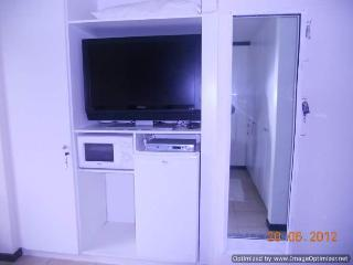 TV, fridge and microwave - North Wing