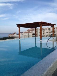 Rooftop heated salt water pool with amazing 360 degree views
