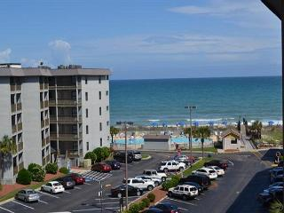 Myrtle Beach Resort 527B | Charming Condo with Full Kitchen & Indoor pool