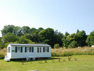 Fully equiped mobile home with a view, Saint-Germain-les-Belles