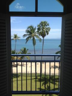 juliette balcony view from 2nd level at master bedroom