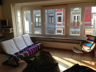 Sunny apartment 80m2 in Belle Epoque Quarter, Ostend