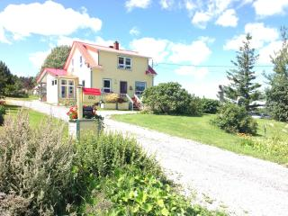 At the end of the Gaspe peninsula, Mr Mario's House welcomes you