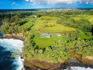One of Hawaii's most secluded ocean front estates, Papaikou