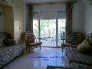 Comfortable lounge with bed-settee, English TV and free WIFI