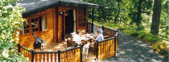 Wide Front Deck is ideal for BBQ