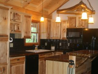 Couples cabin on a 65 acre buffalo ranch! - Smoky Mountains vacation rentals