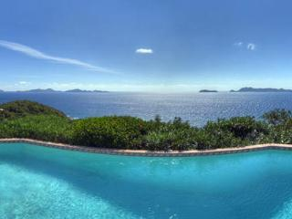 10- minute drive to Road Town, this villa is set atop a scenic promontory. MAT RHU, British Virgin Islands