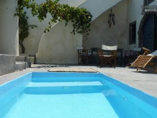 Winery villa traditional and relaxing, Santorin