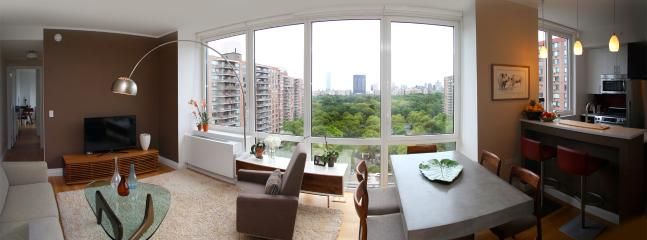 Central Park at your feet - Panoramic View!