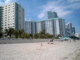 2/2 ocean front condo at  Tides on Hollywood Beach