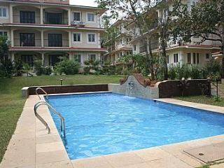 08) Quiet Ground Floor Apartment Siolim Sleeps 2/3