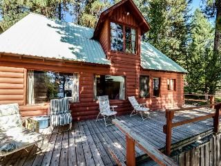 Rustic Red Cabin with Dock, McCall