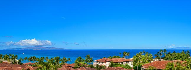 Amazing Panoramic Ocean Views From High Floor 3 Bedroom 3 Bath Upscale Sea Breeze Suite J405 at Wailea Beach Villas - Sea Breeze Suite J405 at Wailea Beach Villas - Wailea - rentals