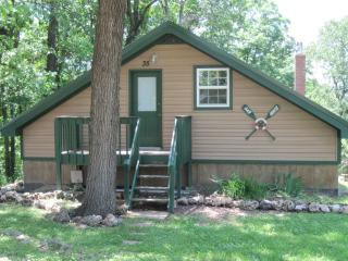 Oar House Cabin, Lake of the Ozarks, Missouri