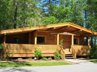 Rental Log cabin accommodations -Rocky Mountains, Wardner