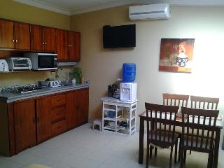Puerto Lopez furnished poolside condo by beach!