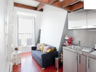 Charming & fully renovated studio with balcony in quartier latin, París