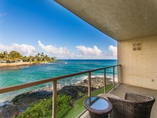 Free Car* with Kuhio Shores 207 - Spectacular remodel on this oceanfront 1bd with awesome ocean views. Watch the sea turtles fro - Poipu vacation rentals