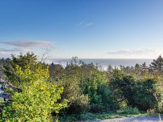 Pet-friendly oceanview home with private hot tub, Newport
