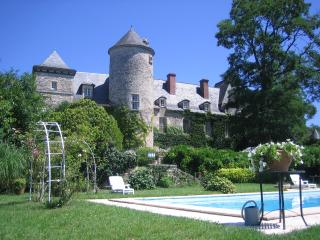 Romantic Dordogne Chateau with pool, Sergeac