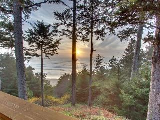 Oceanfront home with amazing views, sleeps 8, Otter Rock