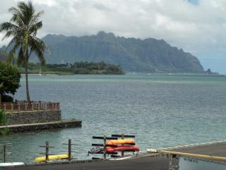 Panoramic sandbar ocean views/  Quiet and Private, Kaneohe