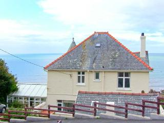 BRYN EGLWYS, detached Edwardian property, en-suite, sea views in Llanaber, Ref 28909