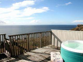 'Bella Oceana' New Everything! HUGE VIEWS! Large Deck! HOTTUB! 3 nights for 2, Dillon Beach
