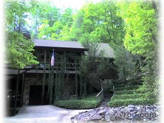 Unique Waterfall Chalet, Decks Over Huge Waterfall - Smoky Mountains vacation rentals