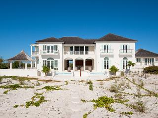 Long Bay House at Long Bay, Turks and Caicos - Beachfront, Pool, Tropical Landscaping, Providenciales