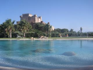 CASTLE OF THE HAWKS: XIII century castle wiht private beach and pool, Butera