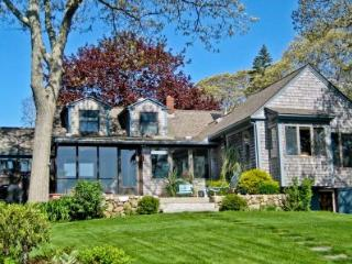 HINES POINT WATERFRONT CAPE WITH DOCK - VH JSTI-185, Vineyard Haven