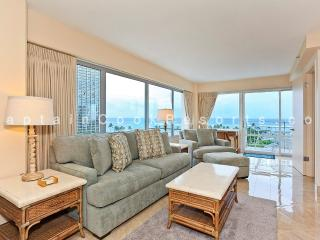 Ilikai 744 - Luxurious Oceanside/Beauty, FREE Parking, 2/2, AC, W/D, WiFi, Sleeps 6 - Waikiki vacation rentals
