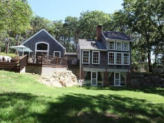 Charming house on private 3 acres.  Private beach, Vineyard Haven