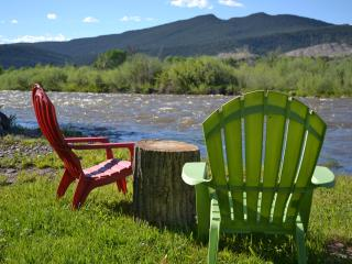 Western Ambience on the Roaring Fork River, Carbondale