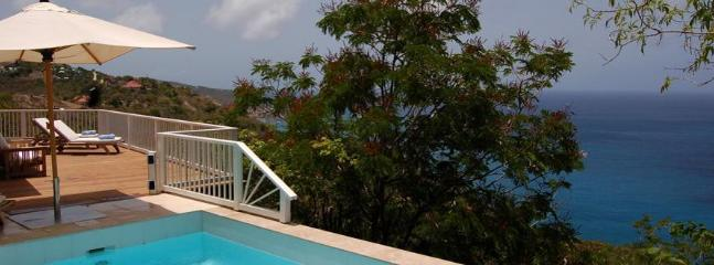Seaview at Colombier, St. Barth - Ocean View, Amazing Sunset Views, Pool, Anse des Flamands