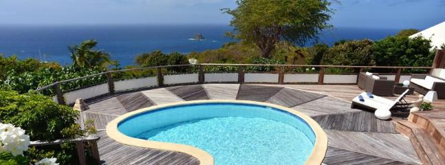 Taniko at Colombier, St. Barth - Ocean View, Amazing Sunset Views,Private, Anse des Flamands