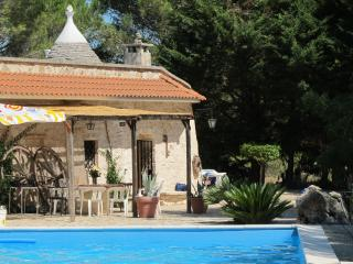 Trullo in Villa Rental: pool and organic garden, Ceglie Messapica