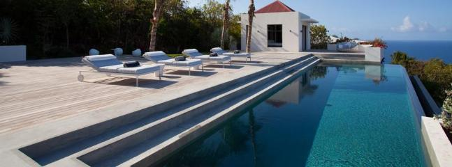 Palm Springs at Gouverneur, St. Barth - Luxury Villa, Heated Pool, Amazing Sunset View