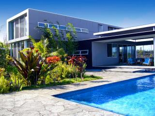Stunning Modern Guest House with Pool & Garden, Pahoa