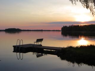 The charming holiday cottage is a perfect country, Lapinlahti