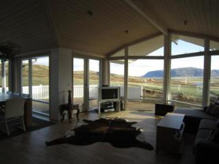 New and modern vacation house with a great view., Selfoss