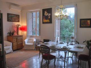 wide, elegant and comfortable old house in Trastevere, Rome