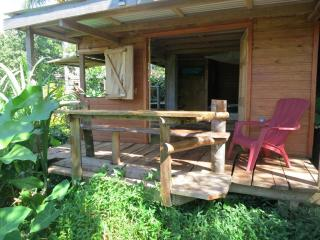Cozy All Wood Cabin; Ocean/Cabrits Views in Picard - Saint George Parish vacation rentals