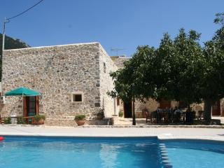 Hosting guests in a renovated 18th century house, Chania