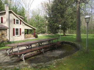 Ligonier Wooded Cabin on 3 acres with Rec Bldg !