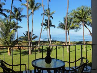 Beachfront paradise, ocean views, great location, Kihei